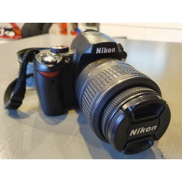 Body NIKON D60, 18-55mm, Nikkor 70-210mm 4-5.6