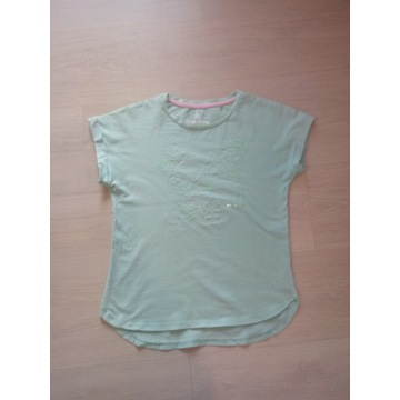Piękna miętowa bluzeczka 5.10.15 rozm. 146