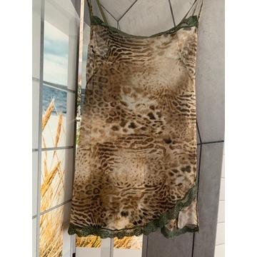 Tygrysia transparentna haleczka do spania r.36/38