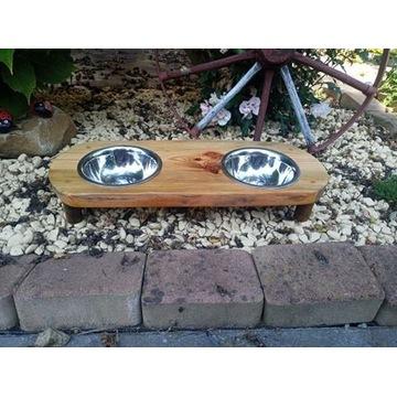miska dla psa kota stojak na miski ręczna robota