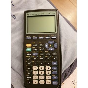 Kalkulator graficzny Texas  TI-83 PLUS Nowy.