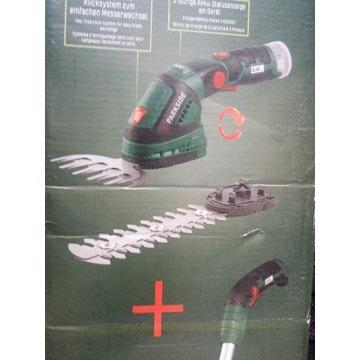 nowe akumulatorowe nożyce do żywopłotu PGSA 12 A1