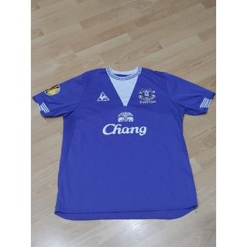 Everton  JAGIELKA #6 koszulka Liga Europy 2009/10