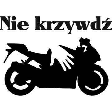 Naklejka motocyklowa