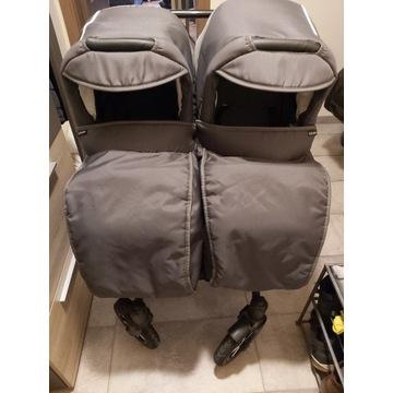 Wózek bliźniaczy Dorjan Danny Sport 5 Twin 2w1