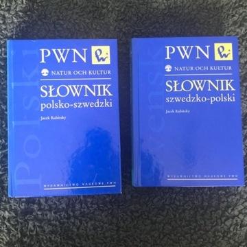 Słowniki PWN POLSKO-SZWEDZKI oraz SZWEDZKO-POLSKI