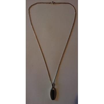 Łańcuszek z zawieszką - srebro