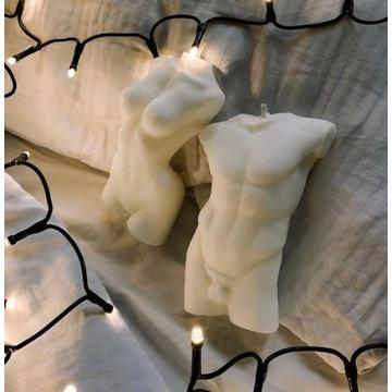 Swieca Zapachowa kobiece ciało 15cm Body art