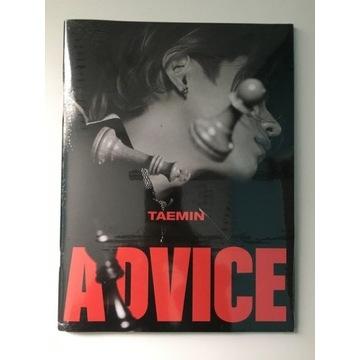 Taemin Advice NOWY album kpop shinee