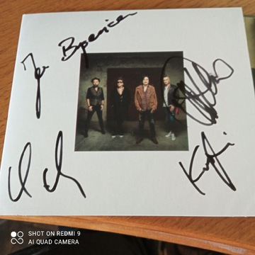 Nowa płyta zespołu Lady Pank z autografami