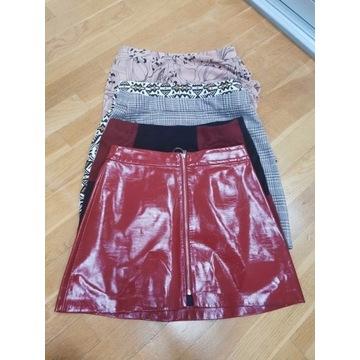 MEGA PAKA spódniczki rozmiar S (Zara, H&M, Sinsay)