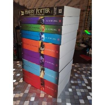 HARRY POTTER 7 TOMÓW J. K. Rowling + GRATIS