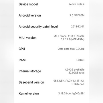 Xiaomi Redmi Note 4 3/32GB Srebrny + gratis