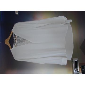 Biała koszula elegancka rozmiar 38