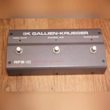Gallien Krueger RF-III Foot Switch