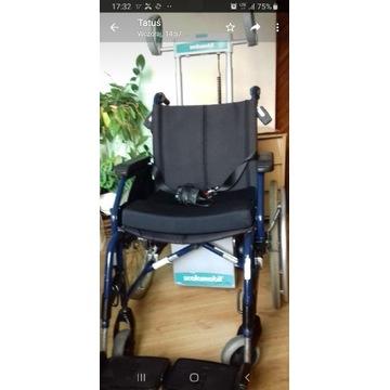 Schodołaz SCAMOBIL S 27 z wózkiem inwalidzkim