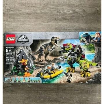 Lego Jurassic Word T-Rex 75938 DOWÓZ GRATIS
