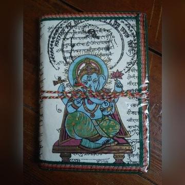 Notatnik w twardej oprawie notes joga INDIE eko