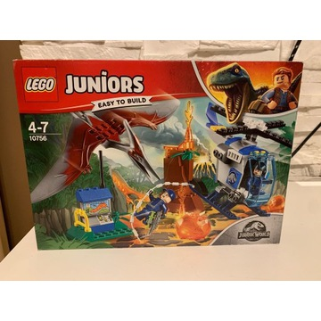 Lego Juniors Jurassic World 10756