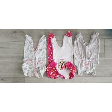 Zestaw ubranek dla dziewczynki 0-68 wiosna lato