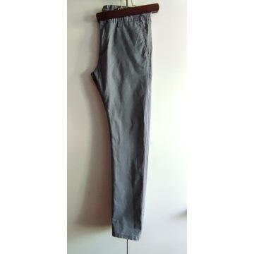 Spodnie męskie szare r. 32