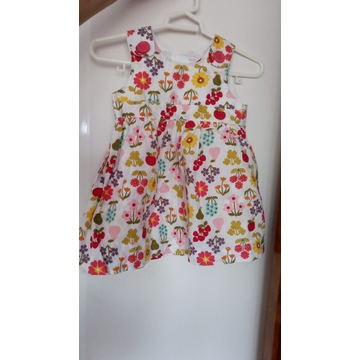 Przepiękna sukienka dla małej damy rozmiar 62 H&M