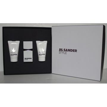 JIL SANDER STYLE KOFRET edp+shower cream+body milk