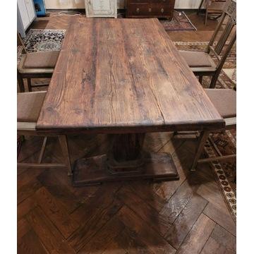 Stół ze starego drrewna