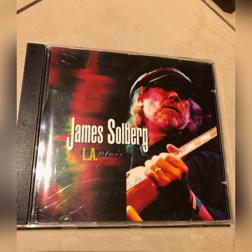 James Solberg L.A. Blues CD