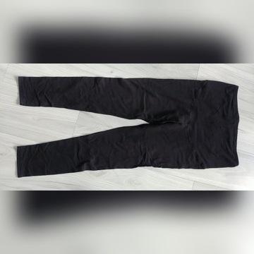 Legginsy ciążowe czarne granatowe rozm. 38 m