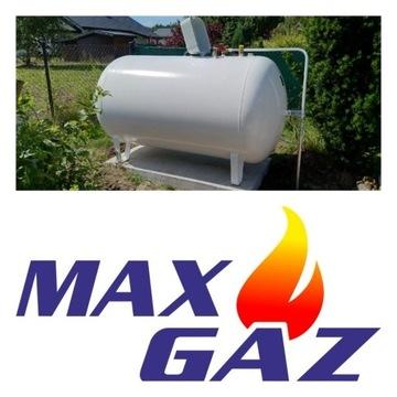 ZBIORNIK na gaz NAZIEMNY 2700 litrów, butla lpg