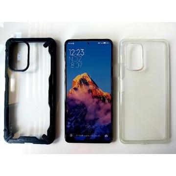 Xiaomi Mi 11i, szkło, 2 etui, komplet, jak nowy.