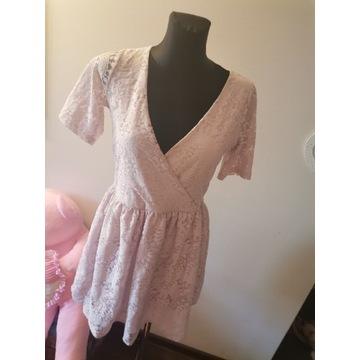 Sukienka Asos koronkowa M Idealna na różne okazje