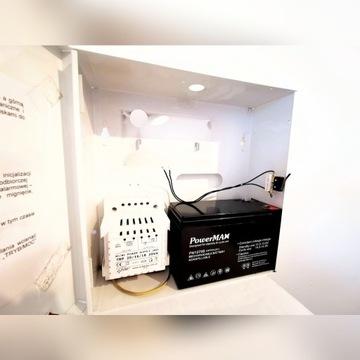 Alarm obudowa AWO 033 metalowa+zasilacz+bateria