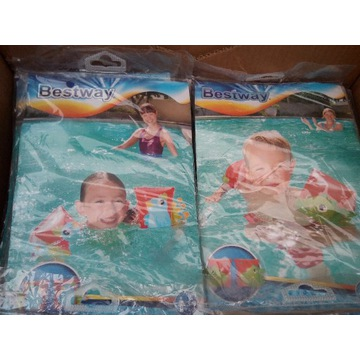 nowe rękawki do pływania pływaczki