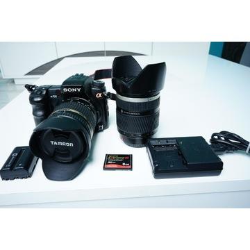 Sony A700 Tamron 18-270 Minolta 28-75 Metz 48 AF1