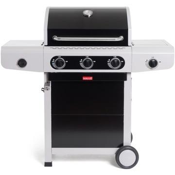 Grill gazowy Siesta 310 Black Barbecook + płyta