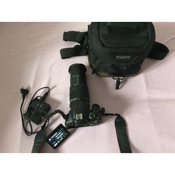 Canon eos 600d + Obiektyw 18-250mm