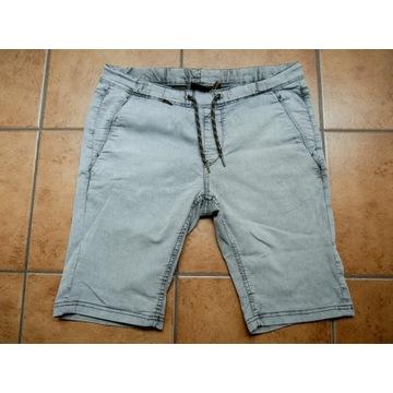 Krótkie spodnie Cropp r.34 Szare