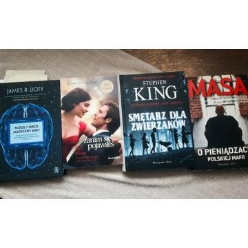 Zestaw książek King, Moyes, James R.Doty, Masa