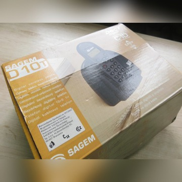 Telefon bezprzewodowy Sagem D10T