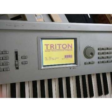 Sprzedam KORG Triton 61 ( zew. Dysk twardy SCSI)