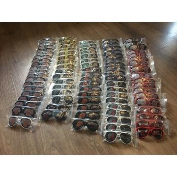 Zestaw 10 okulary  KIBICA NBA Bulls, Laker, ..