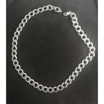 Srebrny łańcuch męski próba 925