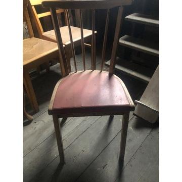 Drewniane krzesło do renowacji.