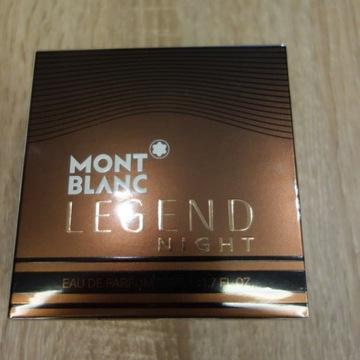 MONTBLANC Legend Night 50ml - perfumy NOWE FOLIA
