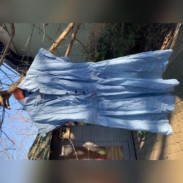Sukienka H&M sukieneczka cienki jeans