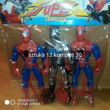 Figurki Spiderman !! 20cm !! Komplet