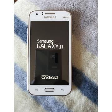 Samsung  J1 duos bialy stan jak nowy