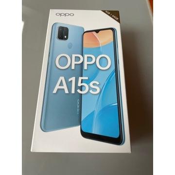 OPPO A15s 64GB czarny NOWY folia